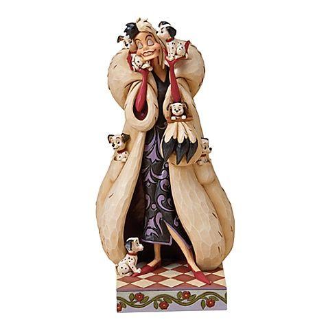 Jim Shore Disney Traditions Cruella de Vil Figurine - Item No. 416051885990P