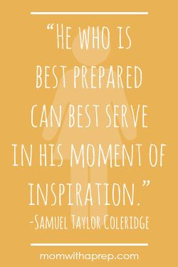 Preparation Quotes Prepossessing 14 Best Preparedness Quotes Images On Pinterest  Quotable Quotes