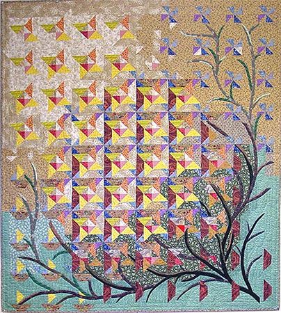 Gone To Seed: Quilts Patterns, Blair Quilts, Seeds Quilts, Heather Quilts, Janet Blair, Jane Blair, Seeds Wow, Quilts Art, Art Quilts