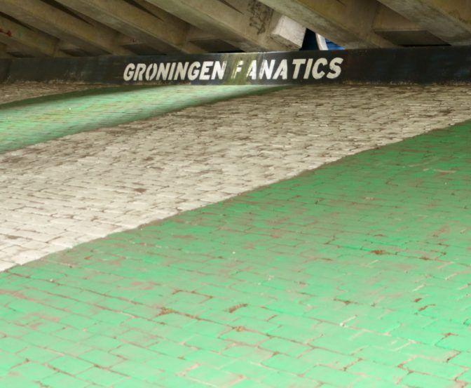 5x vette graffiti van FC Groningen