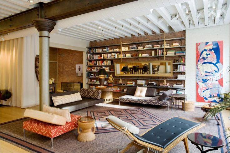 Trois Lofts Créatifs Adaptés Aux Artistes Stylés