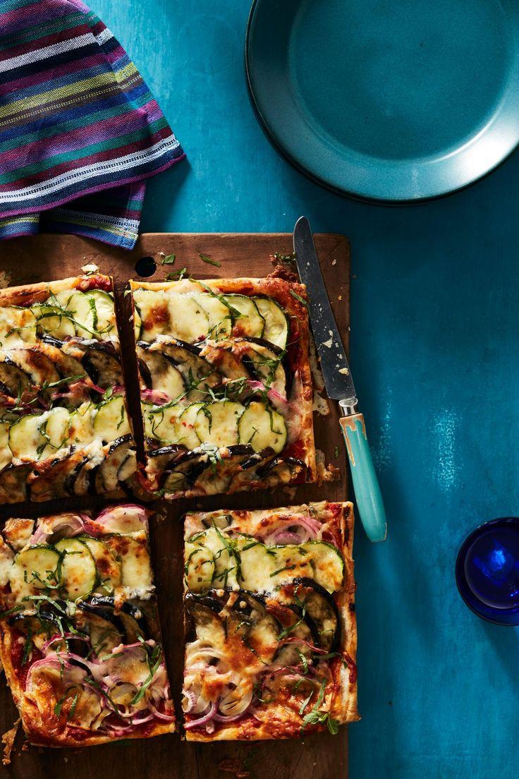 Cheesy Vegetable Tart  | Rachel Ray Mag