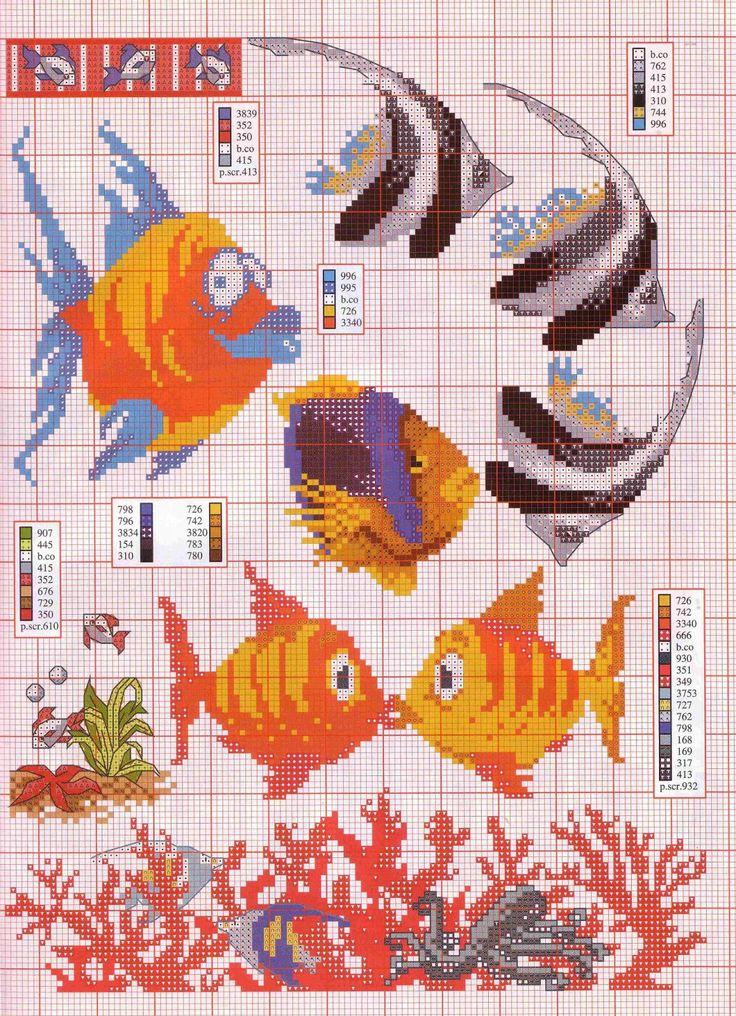 Cross Stitch World: Cross Stitch World: CrossStitch. Undersea World (#2)