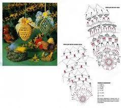 Znalezione obrazy dla zapytania háčkovaná vajíčka návod