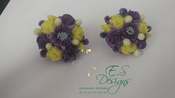 Check out this item in my Etsy shop https://www.etsy.com/uk/listing/532629363/flower-earrings-party-wear-bridesmaid