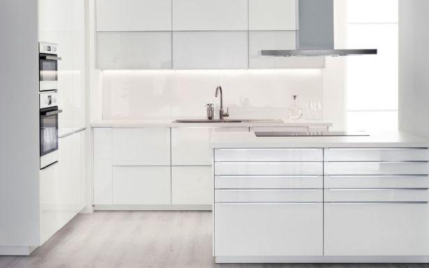 Ikea Ringhult Kitchen In Gloss White Kitchen Pinterest Kitchens And Interiors