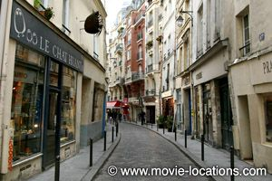Midnight In Paris location: rue Galande, Paris -  I saw the movie and LOVED IT.