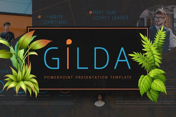 GILDA Powerpoint Template by Maspiko on @creativemarket
