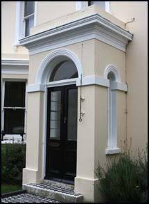 Porch Entry For Georgian Style Google Search Front