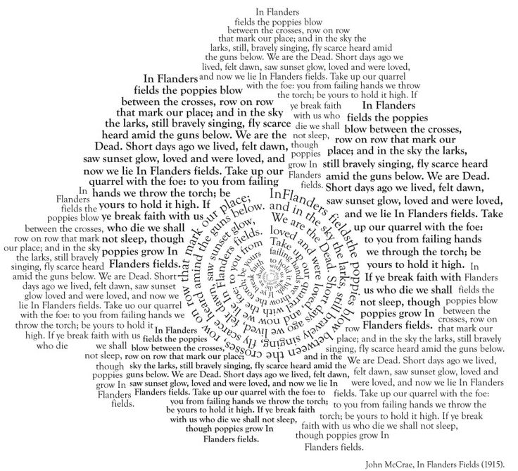 Poetry in Typography