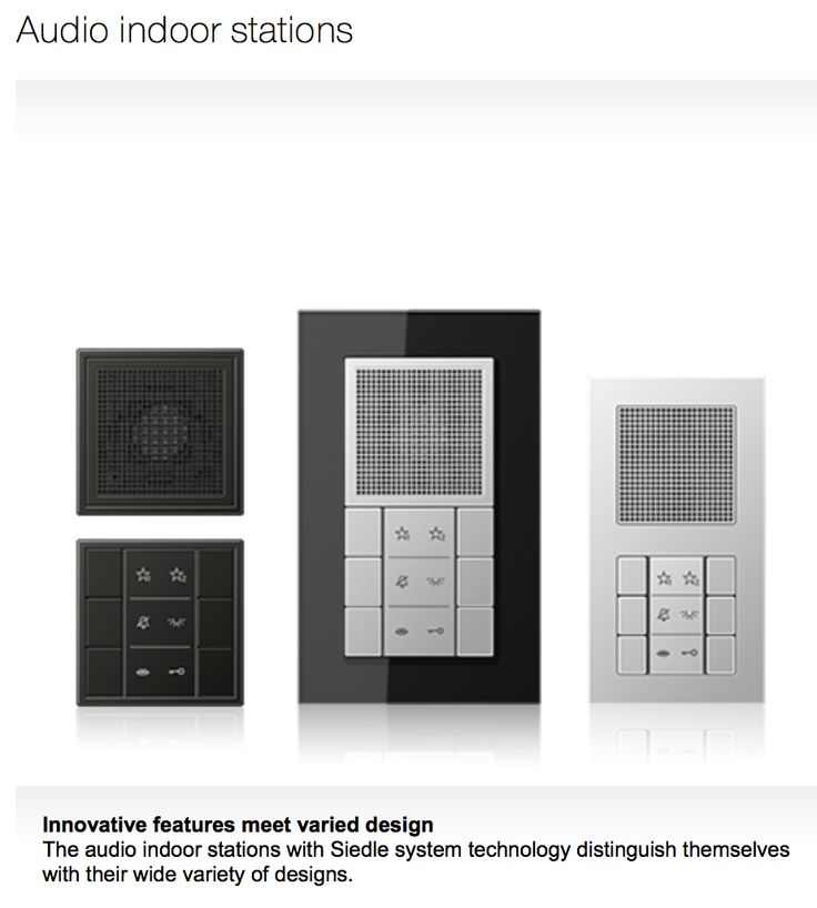 28 best jung door communication images on pinterest communication control system and architecture. Black Bedroom Furniture Sets. Home Design Ideas