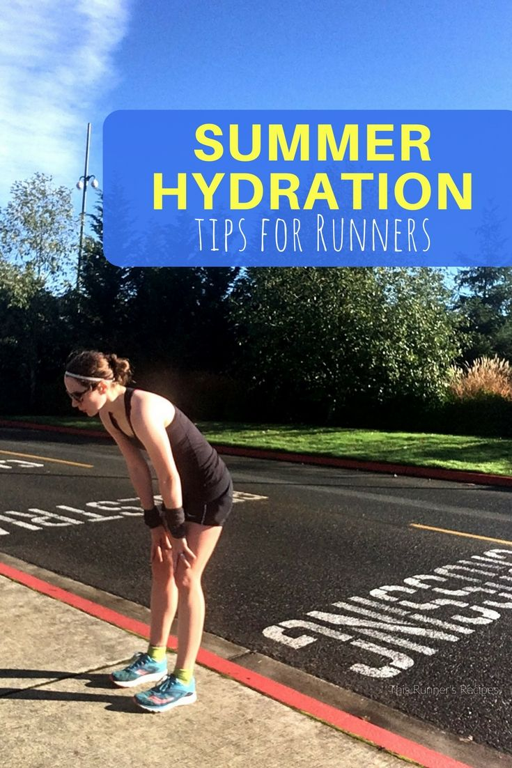 Whether you're running long or short, use these summer hydration tips for runners from runners to keep you running strong this summer!