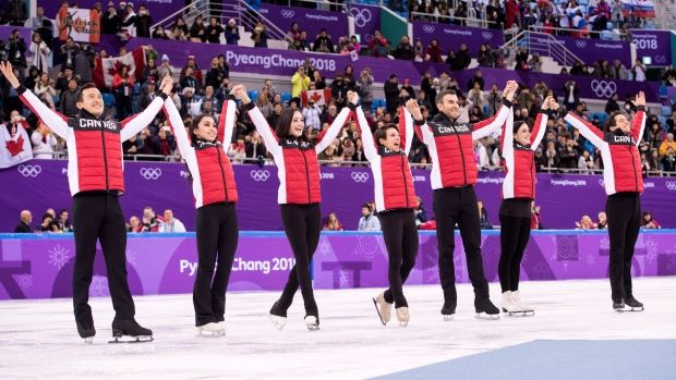 Strategy pays off as Canada takes team figure skating gold