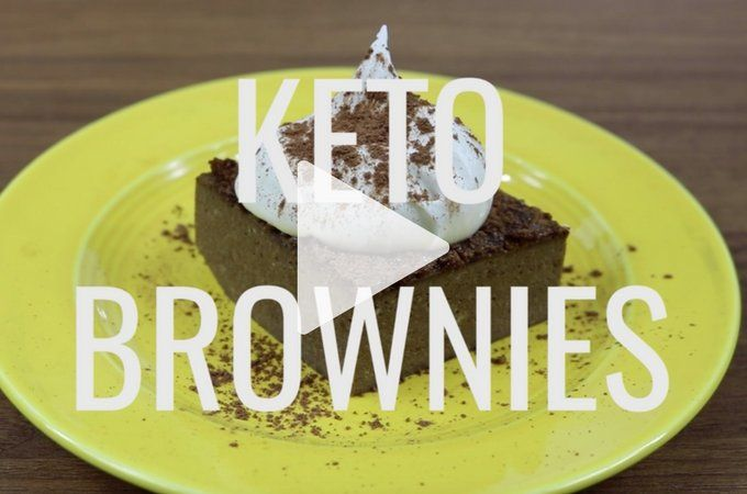 You have to try this flourless and NUT FREE keto brownie. It has no added sugar, no coconut flour, no nuts, simple to make, all using a stick blender!
