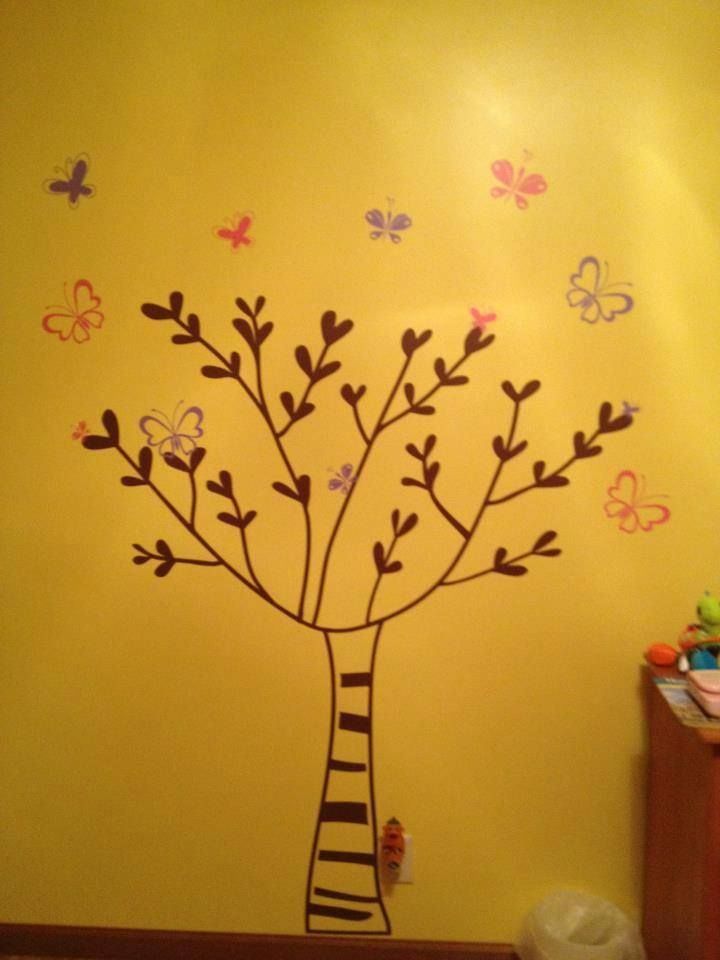 17 best Trees images on Pinterest | Room wall decor, Wall decals and ...