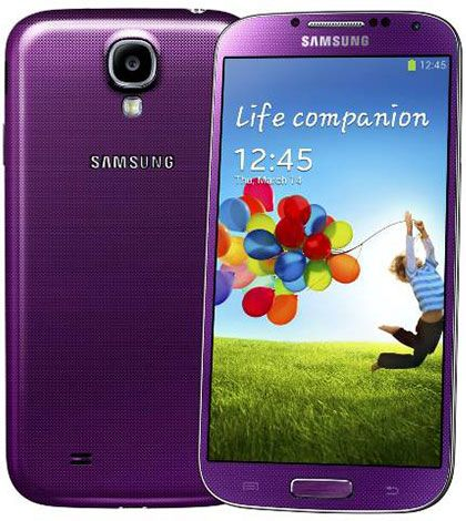 Samsung Galaxy S4 Purple Variant