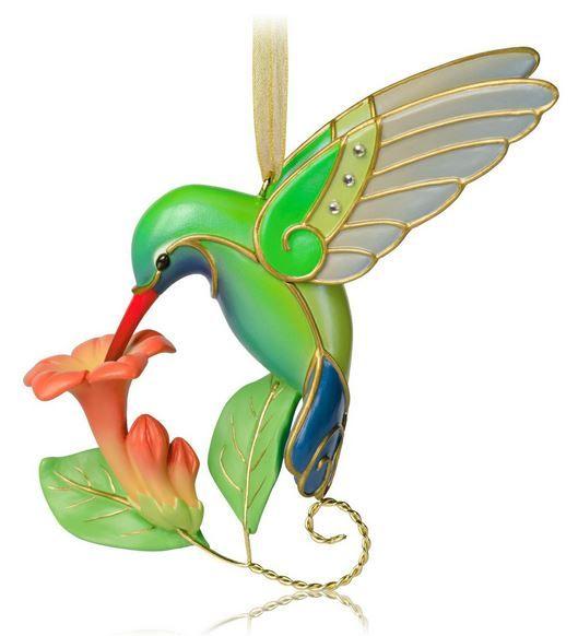 2014 Beauty of Birds Hummingbird Hallmark Keepsake Ornament - Hooked on Hallmark Ornaments