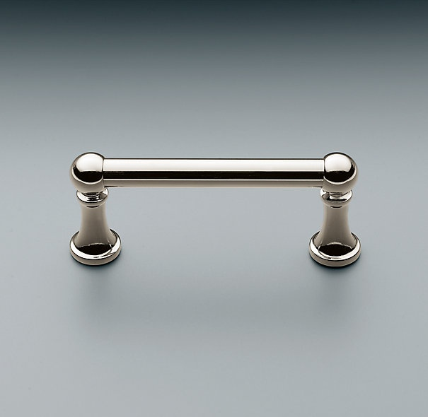 Restoration Hardware Kitchen Cabinets: Kitchen Pulls But In Satin Nickel