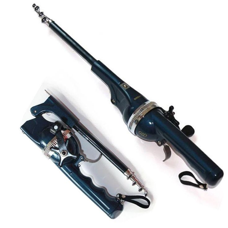 FOLDING ROD WITH REEL TELESCOPIC POLE PORTABLE FISHING ROD FISHING VARA DE OLTA CHEAP-FISHING-RODS-AND-REELS FG62
