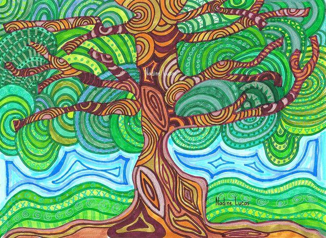 Psychadelic Tree by n_lucas, via Flickr