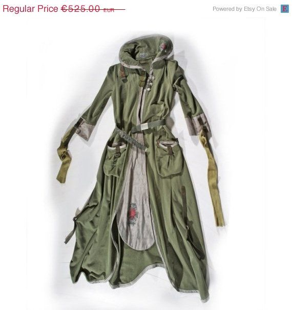 SALE Khaki Green Tea Party  Coat and Dress all in by lummedesigns, €420.00
