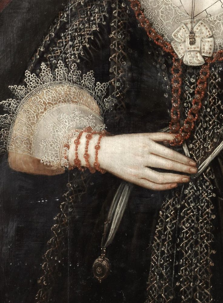 William Larkin (1580–1619) Портрет дамы, возможно госпожа Лоу,1610-1620