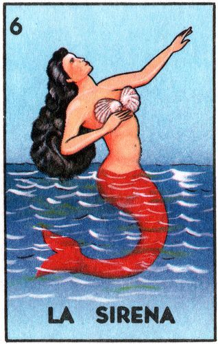La Sirena, mermaid