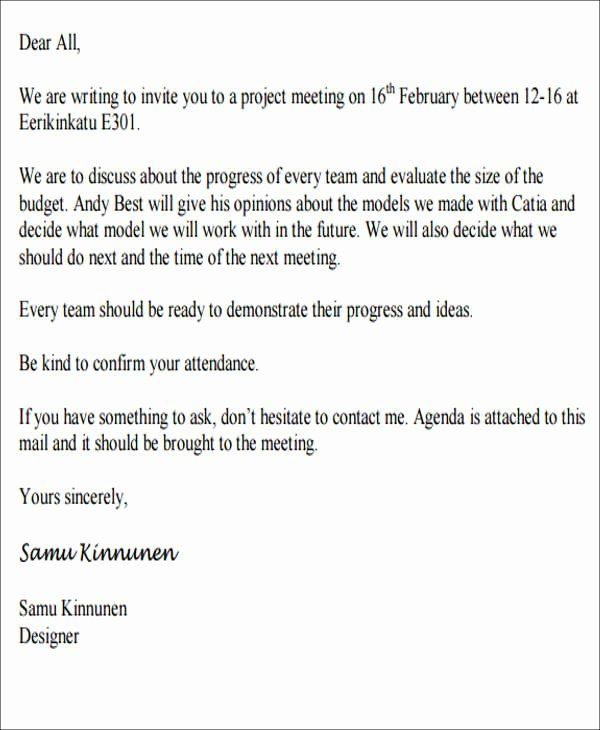 Meeting Invitation Email Template New 68 Meeting Invitation Templates Psd Word Ai In 2020 Email Invitation Invitation Template Business Letter Template