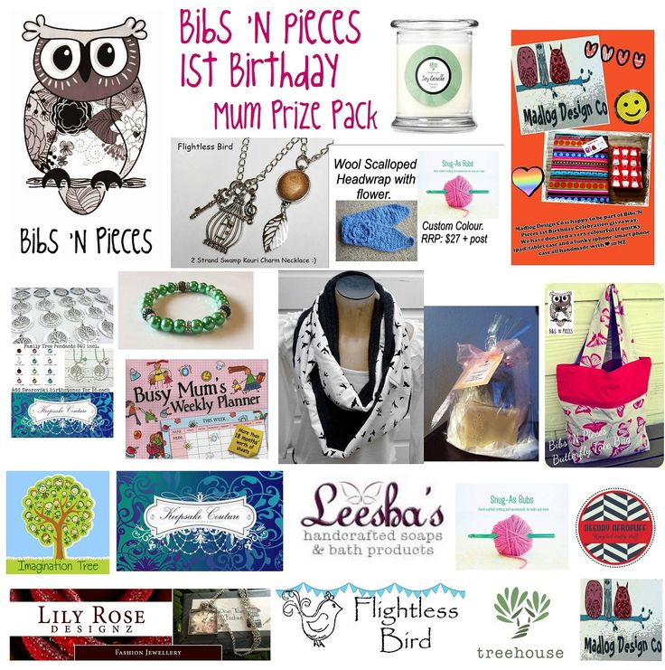 Enter to win: Bibs 'N Pieces 1st Birthday Giveaway - Mum prize pack | http://www.dango.co.nz/s.php?u=oyxW8HcL2027