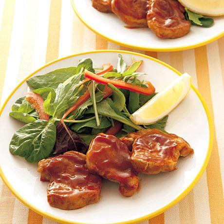 ヒレ肉ポークチャップ風 | 井原裕子さんのソテーの料理レシピ | プロの簡単料理レシピはレタスクラブニュース