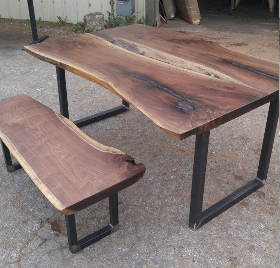 Square Shaped Metal Table Legs by WickedGrain on Etsy