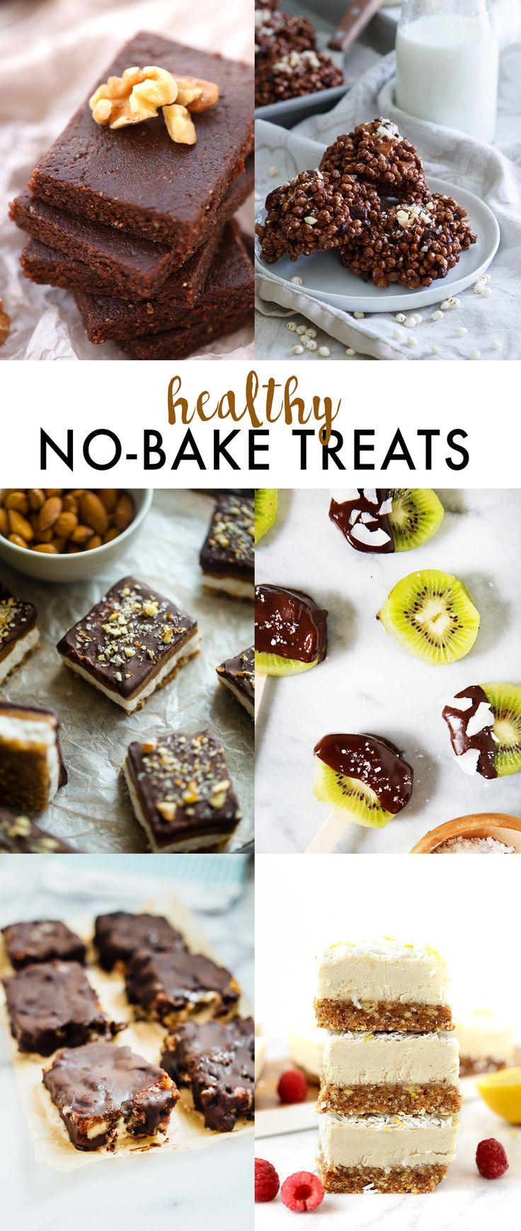 HealthY No Bake Treats recipe idea