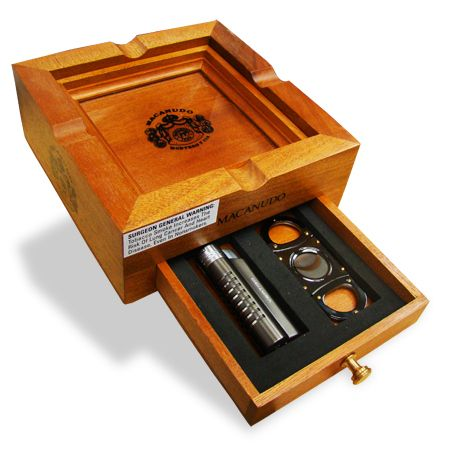 Mike's Cigars, the number one online cigar shopping portal is also dealing in popular cigar accessories. One such highly sought after cigar accessory is the macanudo 3 in 1 ashtray set and buyers can buy it exclusively at Mike's Cigars.