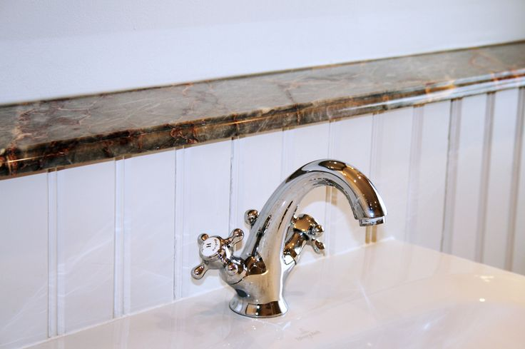 Close up tap detail, traditional bathroom renovation.  For a free consultation call: 0113 262 5954  http://www.redesignexperts.co.uk/