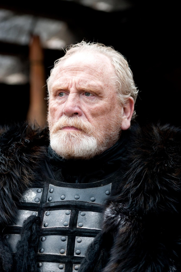 Lord Commander of the Knight's Watch, Jorah's father Jeor Mormont (James Cosmo)   Game of Thrones