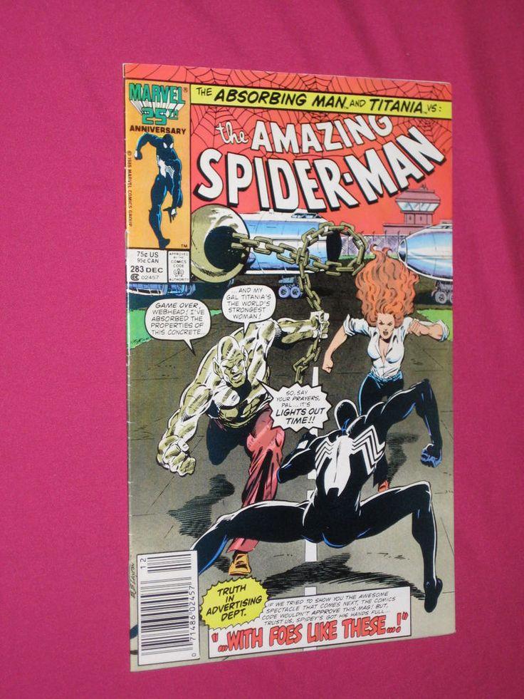 The Amazing Spider-Man #283 Marvel Comics 1986 Key..1st App of Mongoose | eBay