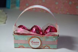 cute little easter basket: Packaging Easter, Hold Easter, Paper Easter, Diy Easter, Easels Baskets, Easter Boxes, Easter Eggs, Baskets Tutorials, Easter Baskets