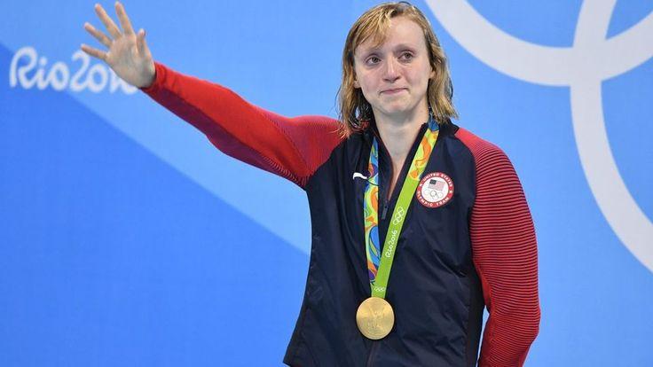Katie Ledecky se révèle comme la grande personnalité de ces Jeux olympiques en natation. [Bernd Thissen - Keystone]