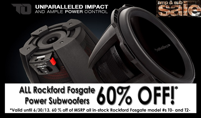 All RF Power Subs 60% off