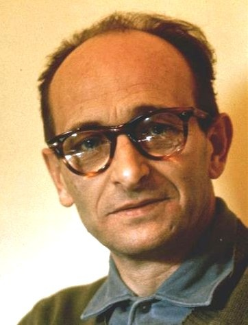 """The face of Evil: Adolf Eichmann, bureaucratic mastermind of the Holocaust, regretted that he failed to exterminate all of Europe's Jews, saying """"there was more we could have done"""""""