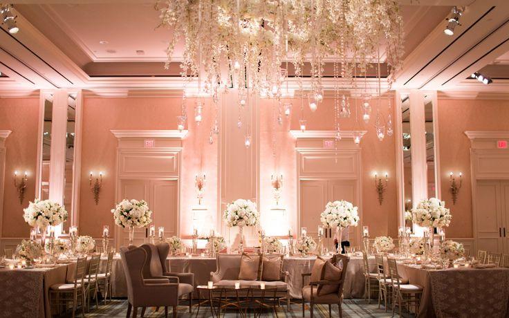 Blush Room Uplighting at The Four Seasons Las Colinas