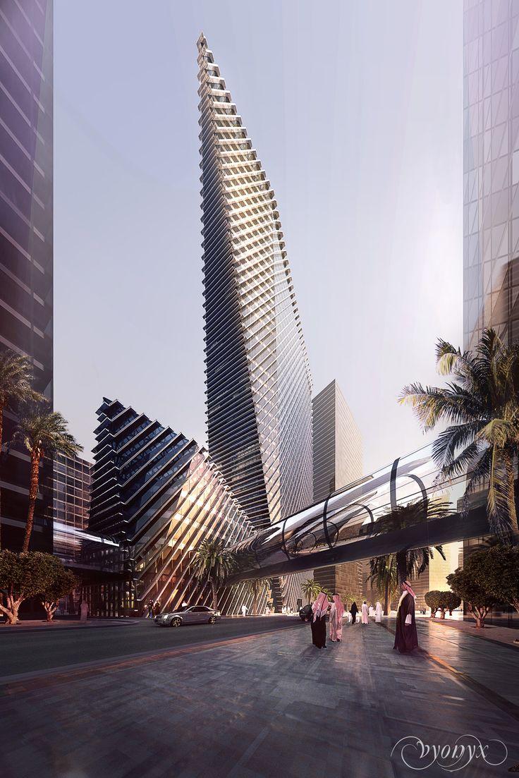 ♀ Modern architecture - RIYADH | KAFD World Trade Centre | 303m | 994ft | 67 fl | U/C - SkyscraperCity