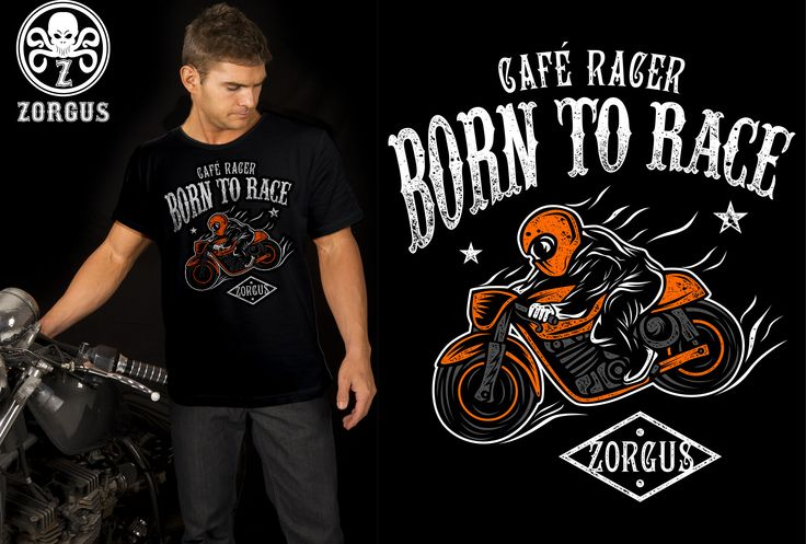 CAFE RACER BORN TO RACE