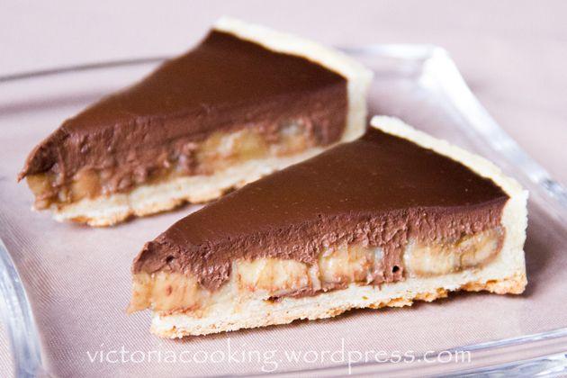 01 - Тарт шоколад+банан 630х420
