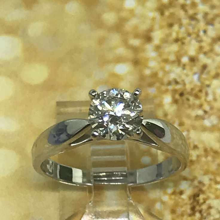 Solitaire  at Best.. 1.00ct Canadian Diamond Solitaire Engagement Ring...