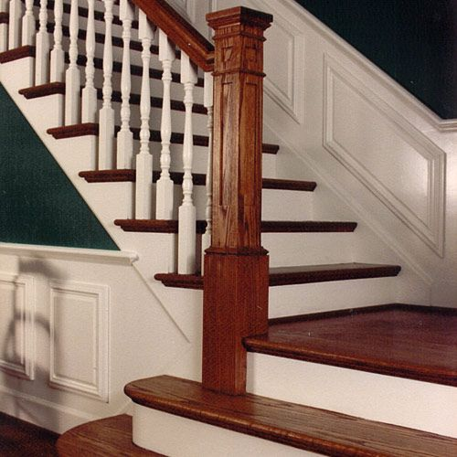 Stairs Wainscoting Traditional Stair Wainscot