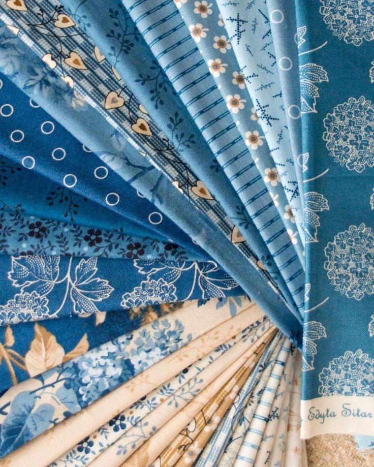 Blue Sky Fat Quarter Bundle by Andover Fabrics - Preorder