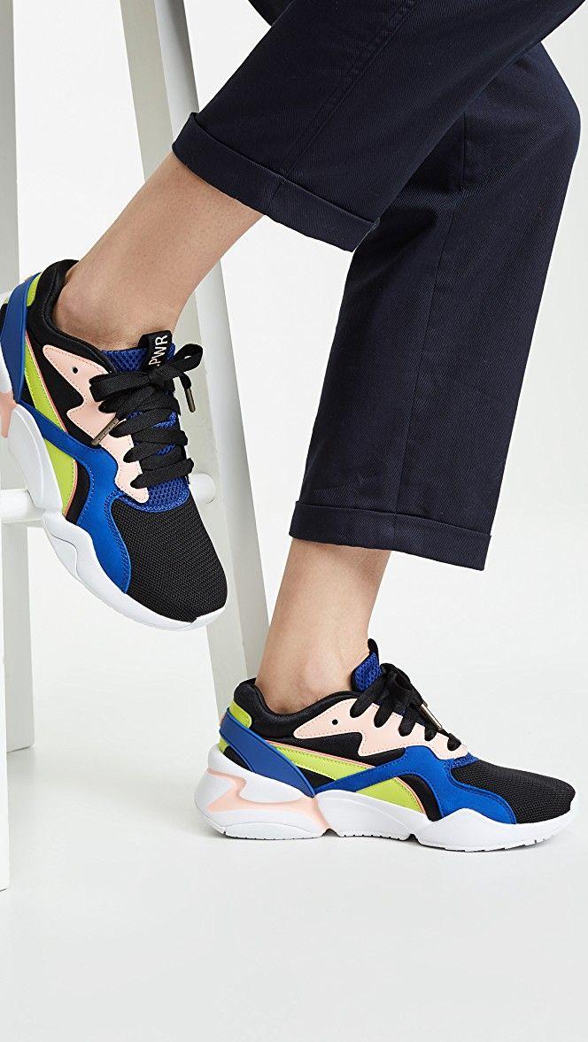 Puma Nova Girl Power Sneakers Shopbop Black Friday Save 20 On Orders 200 Trainers Fashion Sneakers Nova Girl