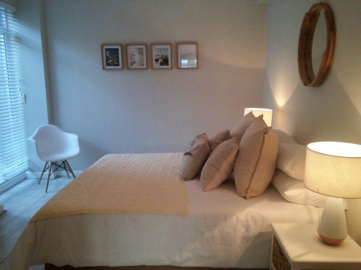 Cream bedroom  apartment revamp