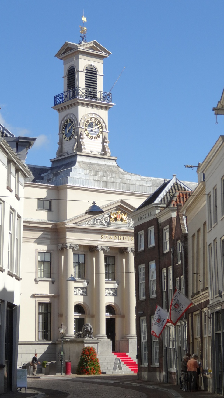 Stadhuis Dordrecht, Holland. My mom and dad got married here:)